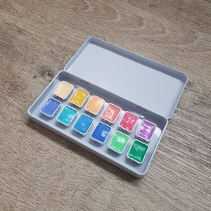 12 Pastel Watercolour Paint Set – ShinHan Extra Fine Artist Water Colors