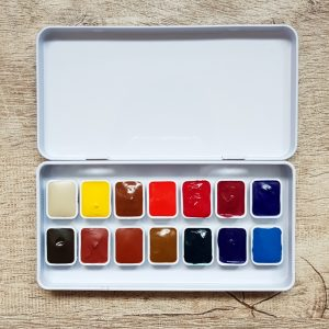 Jane Blundell – The Ultimate Mixing Palette – Daniel Smith Watercolor Paint Set – 14 Colors