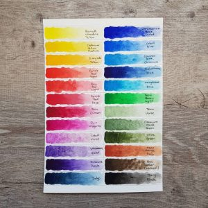 Qor Watercolor Set – 24 Colors – By Golden Artist Colors