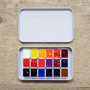Billy Showell Botanical Watercolor Paint Complete Set – 18 Colors