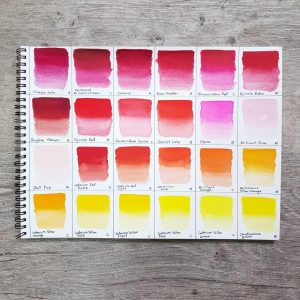 Holbein Artist Watercolor Paints – Customize your own palette!