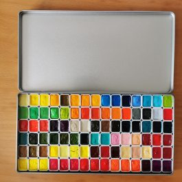 Daniel Smith Watercolor Paint Custom Palette