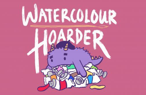 WaterColourHoarder | Logo | Watercolor