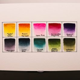 Daniel Smith Jean Haines' Master Artist Watercolor Set – 10 Colours