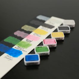 Pearlescent Metallic Handpoured Watercolor Paint Set – Tuner Professional Artist