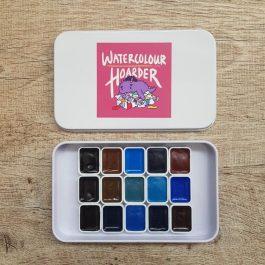 Schmincke Horadam | Watercolour | Paint | Palette | Mixing | Watercolor | Travel | Urban Sketching | Art | Hand-Pour | Handmade | Granulating