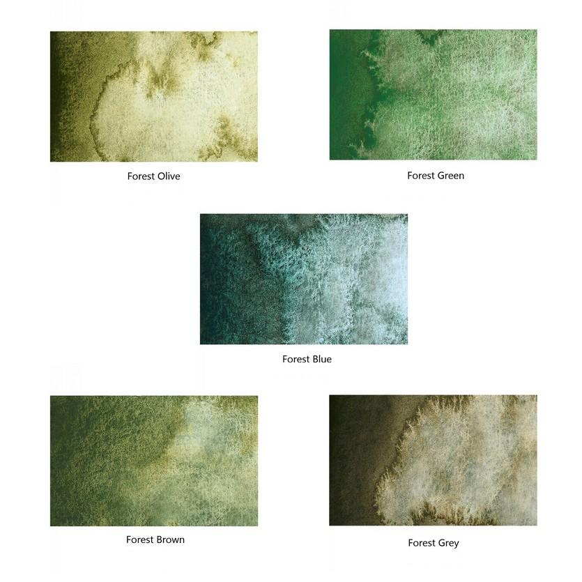 Schmincke Horadam Super Granulating New 10 Color Set - Forest and Tundra  Series - WaterColourHoarder